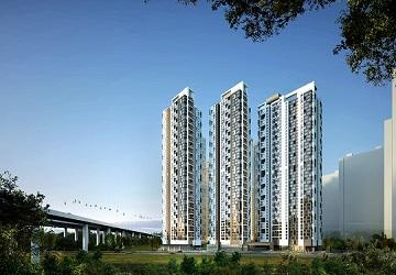 현대건설, 테라스 갖춘 주거용 오피스텔 '힐스테이트 송도 더테라스' 분양
