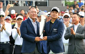 [AD]'제네시스 챔피언십' 성료…'한국 남자골프 축제의 장'