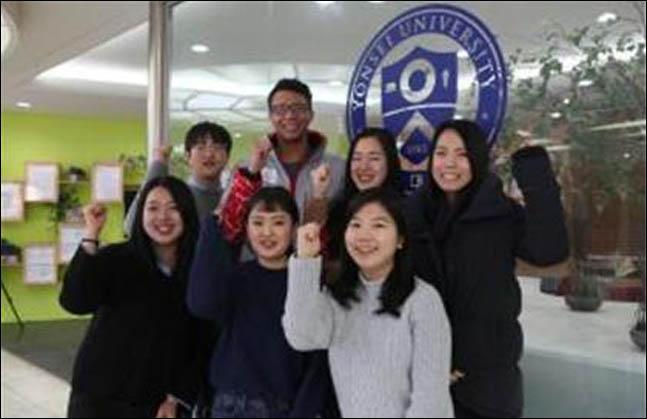 평창동계올림픽 현장, 한·미·일 대학생 합동 자원봉사 시동