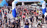 어라운드 삼척 2018, 자전거 동행 성공리에 마무리