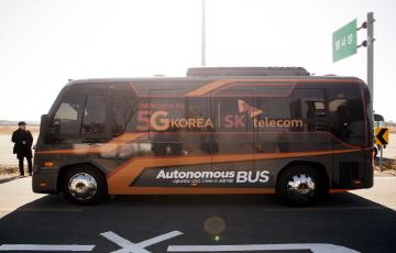 SKT, '자율주행 기반 대중교통시스템' 실증과제 수행