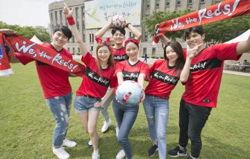 축구국가대표 공식 후원사 KT, 러시아 월드컵 응원 나서
