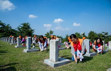 SKC, 국립서울현충원 사회공헌활동 진행