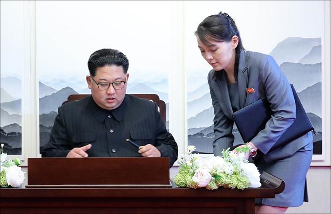 한미중 정상 만나는 北김여정 '2인자' 굳히기