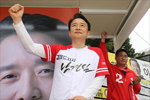 [지방선거] 남경필 '경기북부 총력 집중'