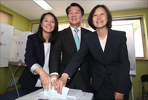 [지방선거] 안철수 '6.13 지방선거 투표'