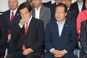 [지방선거 출구조사] '참패'…침통한 자유한국당 지도부