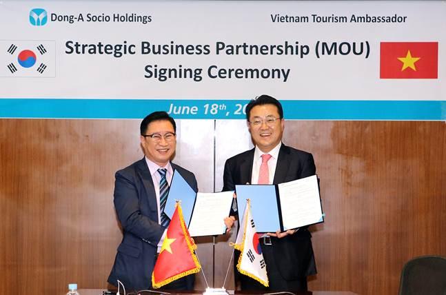 동아쏘시오홀딩스, 베트남 정부와 문화·경제 협력 MOU