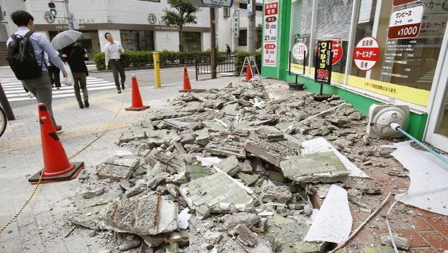 들썩이는 '불의 고리'…日 오사카·과테말라서 '강진'