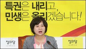 취임 1주년 맞은 이정미 정의당 대표