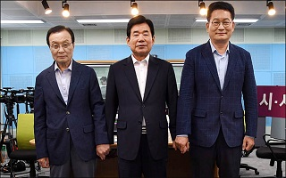 [데일리안 여론조사] 뒤집어진 민주 당대표 적합도…金>宋>李 순