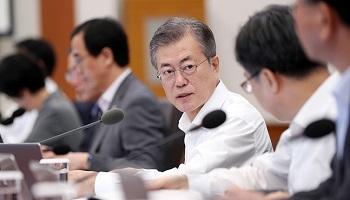 文대통령 지지율 53.8%…역대 최저치 경신