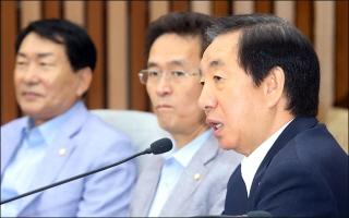 """김성태 """"통합야당 건설 위한 '야권 리모델링' 심도 깊게 고려"""""""
