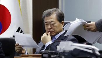 文대통령 국정지지율 최초 '50%선' 붕괴…부정 45.8%