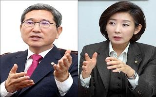 한국당 원내대표 경선 D-1…막판 '표심 경쟁' 치열