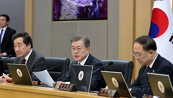일주일째 '북한' 언급 안한 文대통령…'문제는 경제'
