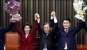 나경원, 한국당 원내사령탑 등극