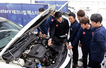 [AD]기아차, 오토큐 엔지니어 대상 '마스터스 테크니컬 페스티벌' 개최