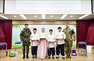 '비무장지대 내 유일 학교' 대성동초등학교 졸업식