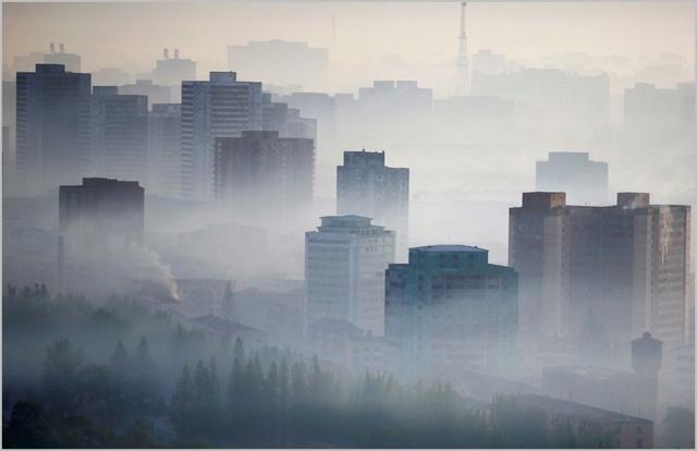 중국발 미세먼지 엄습…입도 뻥긋 못하는 北