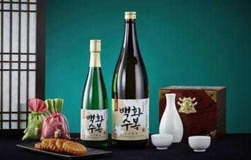 100% 우리쌀로 만든 차례주… 롯데주류 '백화수복'