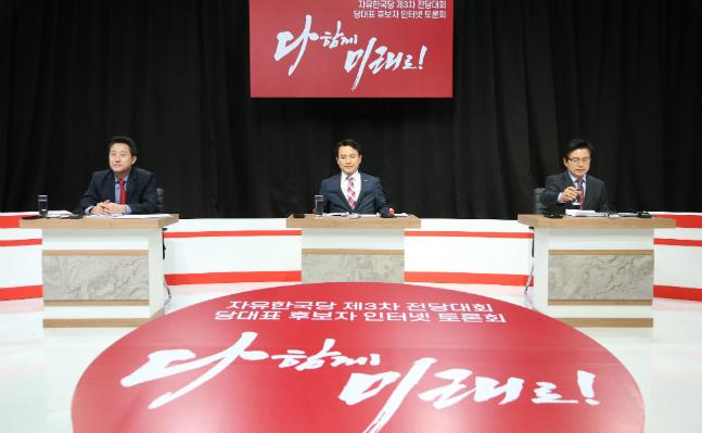 오세훈·김진태, 총선 표심 놓고 '난타전'…황교안 '몸조심' 계속