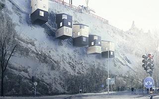 주택난 심각한 스웨덴의 '새둥지 집'