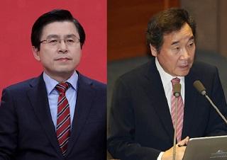 [데일리안 여론조사] 차기대권 '前‧現총리구도'…황교안 18.6% 이낙연 15.6%
