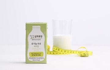 상하목장, 국내 최초 유기농 우유 저지방 멸균 출시