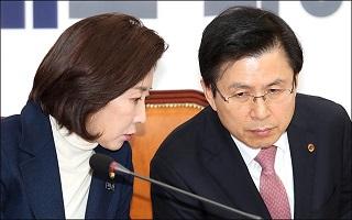'세모화법' 더이상 없다…'독설가'된 황교안·나경원