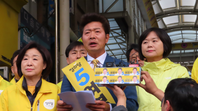 창원성산 범여권 단일화…'보수결집' 부르나
