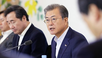 文대통령 지지율 43.4% '인사파문 영향'