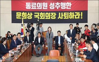 패스트트랙→국회의장 사퇴론으로 번진 까닭은