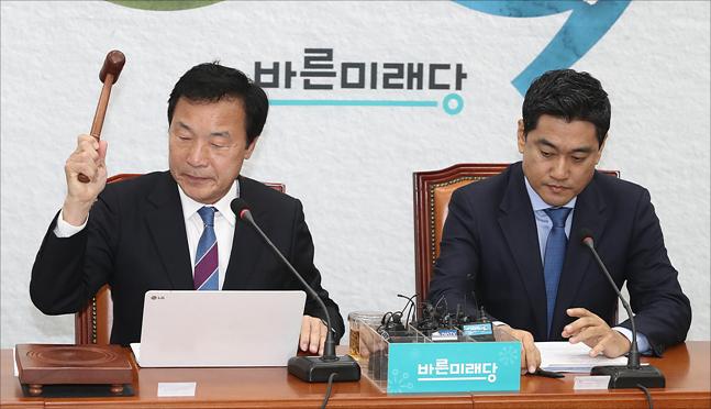 손학규 '멍군' 부른다…바른미래 최고위 긴장감 '최고조'