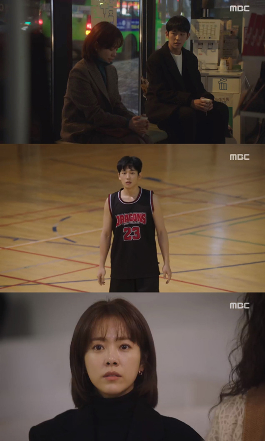 '밥누나2'?…한지민·정해인 '봄밤' 첫방 '글쎄'