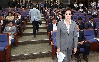 나경원, 오늘 관훈클럽 토론회…국회정상화 물꼬 트이나