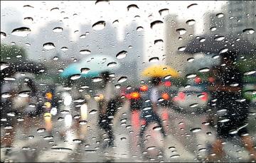 [내일날씨] 내륙 곳곳 천둥‧번개 동반한 소나기