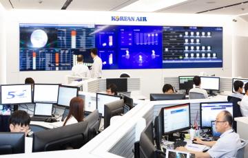 대한항공, 클라우드 커맨드센터 오픈