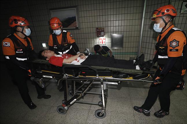 출동한 119 구급대원을 폭행한 죄가 겨우 벌금 300만 원?