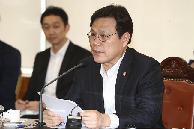 """최종구 """"정책서민금융, 더 어려운 계층 지원…고금리 대안상품 '연 1조' 공급"""""""