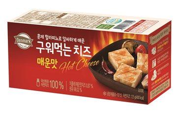 동원F&B, 멕시코 고추로 맛 낸 '덴마크 구워먹는 치즈 매운맛' 출시