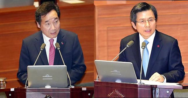 [데일리안 여론조사] '차기 대권' 이낙연 25.5% vs 황교안 19.0%