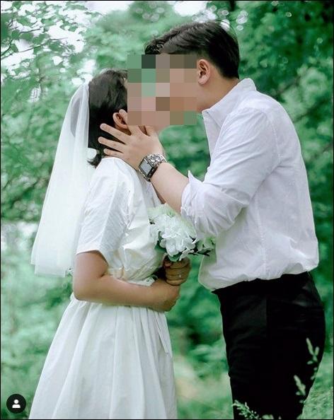 """최진실 딸 최준희 셀프웨딩 사진 """"사랑보다 값진 것은 없다"""""""