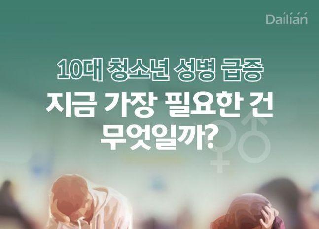 [카드뉴스] 10대 청소년 성병급증