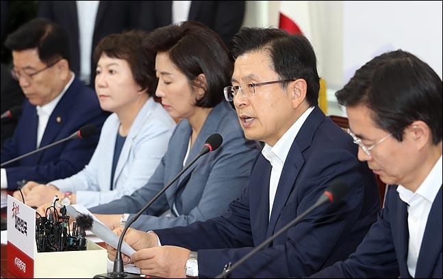 한국당, '입시특혜 의혹' 집중공세…