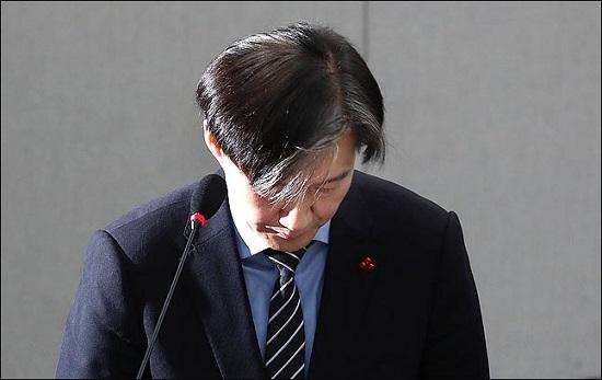 """[속보] 조국 """"'74억 사모펀드'·웅동학원 사회에 기부하겠다"""""""