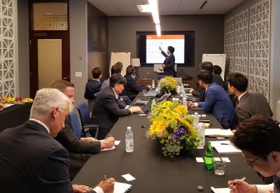 오렌지라이프, 미국·캐나다 보험사들과 지식교류세션 진행
