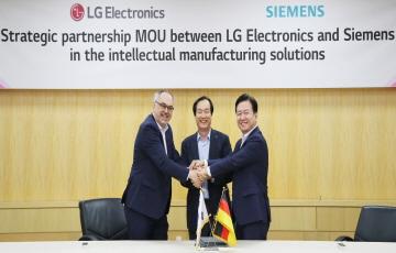 LG전자, 獨 지멘스와 제조 분야 '디지털 전환' 협력 MOU 체결
