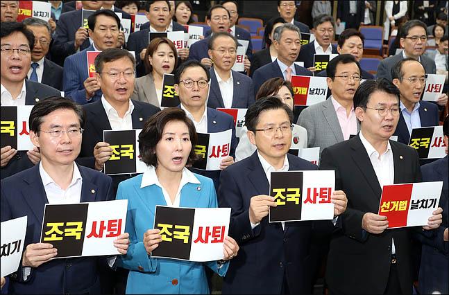 대여투쟁 탄력 받던 한국당, 선거법 의결·청문회 불투명으로 수세 몰리나