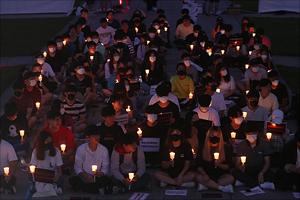 '날씨 탓? 여론 탓?' 힘빠진 고대 촛불집회